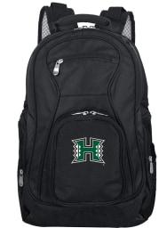 Hawaii Warriors Black 19 Laptop Backpack