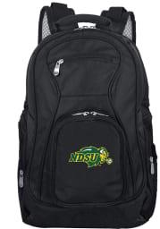 North Dakota State Bison Black 19 Laptop Backpack
