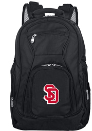South Dakota Coyotes Black 19 Laptop Backpack