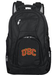 USC Trojans Black 19 Laptop Backpack