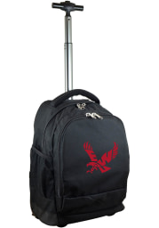 Eastern Washington Eagles Black Wheeled Premium Backpack