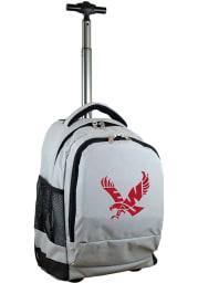 Eastern Washington Eagles Grey Wheeled Premium Backpack