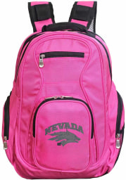 Nevada Wolf Pack Pink 19 Laptop Backpack