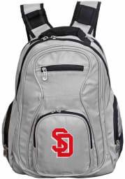 South Dakota Coyotes Grey 19 Laptop Backpack