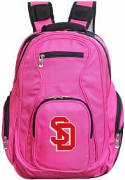 South Dakota Coyotes Pink 19 Laptop Backpack