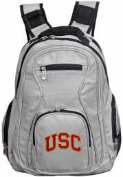 USC Trojans Grey 19 Laptop Backpack