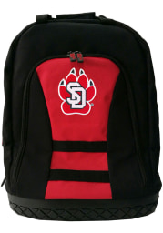 South Dakota Coyotes Red 18 Tool Backpack