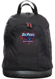 DePaul Blue Demons Black 18 Tool Backpack