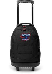 DePaul Blue Demons Blue 18 Wheeled Tool Backpack