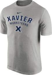 Nike Xavier Musketeers Grey Full Short Sleeve T Shirt