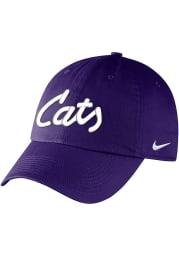 Nike K-State Wildcats Campus Adjustable Hat - Purple