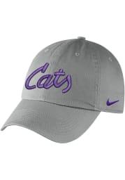 Nike K-State Wildcats Campus Adjustable Hat - Grey