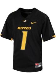 Nike Missouri Tigers Youth Black Sideline Replica Football Jersey