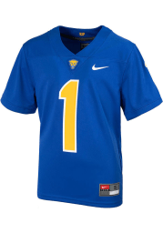 Nike Pitt Panthers Youth Blue Sideline Replica Football Jersey