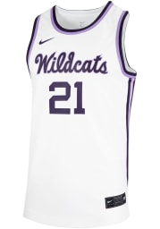 Nike K-State Wildcats White Replica Jersey