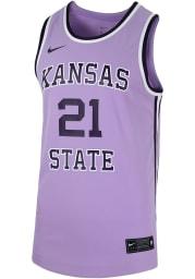Nike K-State Wildcats Purple Replica Jersey