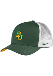 Nike Baylor Bears Aero C99 Trucker Adjustable Hat - Green