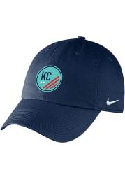 Nike KC NWSL Campus Adjustable Hat - Navy Blue