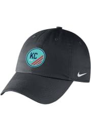Nike KC NWSL Campus Adjustable Hat - Charcoal