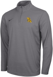 Nike Missouri Western Griffons Mens Grey Intensity Logo Long Sleeve 1/4 Zip Pullover