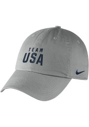 Nike Team USA 2021 Olympics Campus Adjustable Hat - Grey