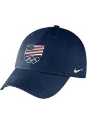 Nike Team USA 2021 Olympics Campus Adjustable Hat - Navy Blue