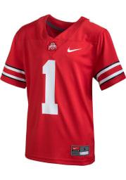 Nike Ohio State Buckeyes Youth Cardinal Sideline Replica Football Jersey