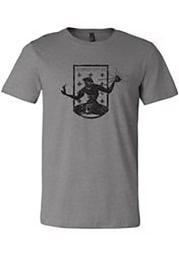 Detroit City FC Grey Crest Short Sleeve Fashion T Shirt
