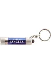 Texas Rangers Chroma Flash Light Keychain