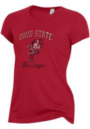 Alternative Apparel Ohio State Buckeyes Womens Red Keepsake Short Sleeve T-Shirt