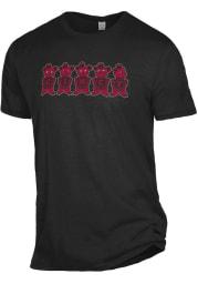 Alternative Apparel Cincinnati Bearcats Black Keeper Short Sleeve T Shirt