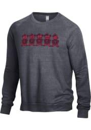 Alternative Apparel Cincinnati Bearcats Mens Black Champ Long Sleeve Fashion Sweatshirt