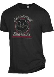 Alternative Apparel Cincinnati Bearcats Black Keeper Short Sleeve Fashion T Shirt