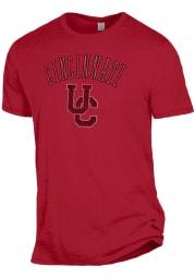 Alternative Apparel Cincinnati Bearcats Red Keeper Short Sleeve Fashion T Shirt
