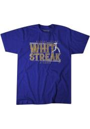 Whit Merrifield Kansas City Royals Blue Whit Streak Short Sleeve Fashion Player T Shirt