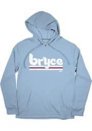 Bryce Harper Philadelphia Phillies Mens Light Blue Philly Player Hood