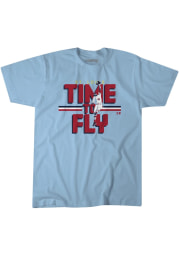 Dexter Fowler St Louis Light Blue Time To Fly Short Sleeve Fashion Player T Shirt