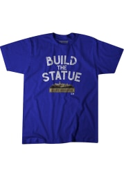 Alex Gordon Kansas City Royals Blue Build The Statue Short Sleeve Fashion Player T Shirt