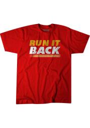 BreakingT Kansas City Chiefs Red Run It Back Tour Short Sleeve Fashion T Shirt
