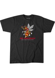 BreakingT Kansas City Chiefs Black Wasp Short Sleeve Fashion T Shirt