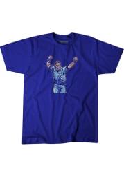 George Brett # Kansas City Royals Blue BreakingT George Brett Short Sleeve Fashion T Shirt