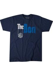 Luka Doncic Dallas Mavericks Navy Blue The Don Short Sleeve Fashion Player T Shirt