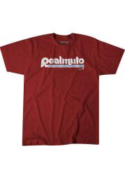 JT Realmuto Philadelphia Phillies Maroon Philly Realmuto Short Sleeve Fashion Player T Shirt