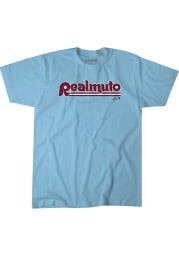 JT Realmuto Philadelphia Phillies Light Blue Philly Realmuto Short Sleeve Fashion Player T Shirt