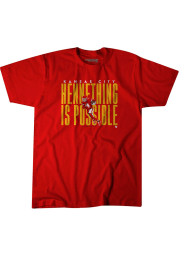 Chad Henne Kansas City Chiefs Red Henne Thing Is Possible Short Sleeve Fashion Player T Shirt