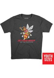 BreakingT Kansas City Chiefs Youth Black KC Wasp Player Tee