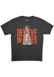 Baker Mayfield Cleveland Browns Youth Charcoal Believe in Baker Player Tee
