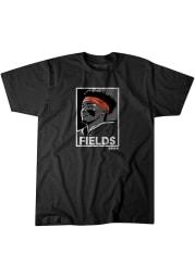 Justin Fields Chicago Bears Black Fields Short Sleeve Fashion Player T Shirt