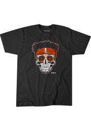 Justin Fields Chicago Bears Grey Fields Sugar Skull Short Sleeve Fashion Player T Shirt