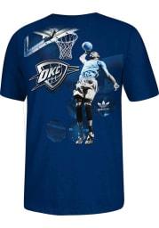 Kevin Durant Oklahoma City Thunder Black Spotlight Short Sleeve Player T Shirt
